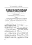 """Báo cáo """"Ảnh hưởng của hàm lượng chất khơi mào TPO đến quá trình khâu mạch quang trong điều kiện ánh sáng tự nhiên của hệ tritiol / butadien nitril """""""