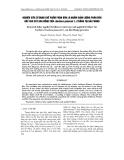 """Báo cáo """" Nghiên cứu sử dụng chế phẩm phân bón lá nhằm giảm lượng phân bón gốc cho cây hoa đồng tiền (Gerbera jamesoii L.) trồng tại Hải Phòng """""""