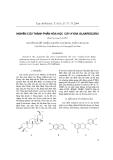 """Báo cáo """"nghiên cứu thành phần hóa học cây kydia glabrescens """""""