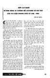 """Báo cáo """" Mấy suy nghĩ về ánh sáng tư tưởng Hồ Chí Minh và vai trò của thư viện trong thời kỳ công nghiệp hoá - hiện đại hoá """""""