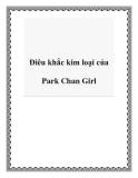 Điêu khắc kim loại của Park Chan Girl