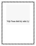 Việt Nam thời kỳ nhà Lý