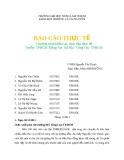 Chương trình khảo sát thực tập thực tế Tuyến: TPHCM-Đồng Nai- Bà Rịa- Vũng Tàu- TPHCM