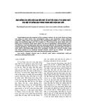 Ảnh hưởng của điều kiện hạn đến một số chỉ tiêu sinh lý và năng suất của một số giống đậu tương trong điều kiện nhà lưới
