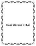Trang phục dân tộc Lào