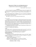 Đánh giá các tổ hợp lúa lai hai dòng mới chọn tạo