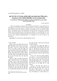 Một số yếu tố có ảnh hưởng đến khả năng sinh tổng hợp γ-Decalactone của chủng nấm men Yarrowia lipolytica W29