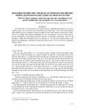 Ảnh hưởng của bình nuôi, thế hệ cây và thiosulfat bạc đến sinh trưởng, hệ số nhân và chất lượng cây khoai tây in vitro