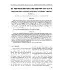 Sản lượng và chất lượng của phân gà công nghiệp trước và sau khi xử lý