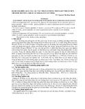 Đánh giá hiệu quả của các tác nhân sử dụng trong kỹ thuật duy trì sinh trưởng chậm cây Khoai Tây In Vitro