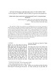 """KẾT QUẢ BƯỚC ĐẦU CHUYỂN GEN VÀO CÂY HOA ĐỒNG TIỀN Gerbera jamesonii """"FERRARI"""" NHỜ VI KHUẨN Agrobacterium tumefaciens"""