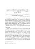 Khả năng kháng bệnh bạc lá của các dòng lúa chỉ thị (Tester) chứa đa gen kháng với một số chủng vi khuẩn Xanthomonas oryzae pv. oryzae gây bệnh bạc lá lúa phổ biến ở miền bắc Việt Nam