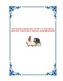 NỀN HÀNH CHÍNH NHÀ NƯỚC VÀ XÂY DỰNG ĐỘI NGŨ VIÊN CHỨC TRONG TÌNH HÌNH MỚI.NỀN HÀNH CHÍNH NHÀ NƯỚC VÀ XÂY DỰNG ĐỘI NGŨ VIÊN CHỨC TRONG TÌNH HÌNH MỚI