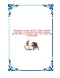 HỆ THỐNG CÂU HỎI VÀ BÀI TẬP TRẮC NGHIỆM THI TRỰC TUYẾN CHO CÔNG CHỨC ĐÃ HOÀN THÀNH CHƯƠNG TRÌNH ĐÀO TẠO CÔNG CHỨC MỚI NGÀNH THUẾ1.1. Thuế Giá trị gia tăng Câu 1: Đặc điểm nào dưới đây không phải của thuế GTGT: a. Gián thu b. Đánh nhiều giai đoạn c. Tr
