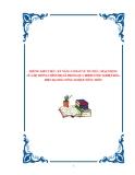 NHỮNG KIẾN THỨC, KỸ NĂNG CƠ BẢN VỀ TỔ CHỨC, HOẠT ĐỘNG CỦA HỆ THỐNG CHÍNH TRỊ XÃ TRONG QUÁ TRÌNH CÔNG NGHIỆP HÓA, HIỆN ĐẠI HÓA NÔNG NGHIỆP, NÔNG THÔN