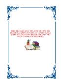 THỰC TRẠNG QUẢN LÝ NHÀ NƯỚC VỀ CÔNG TÁC THANH TRA, NHỮNG VẤN ĐỀ CẦN TẬP TRUNG GIẢI QUYẾT ĐỂ TĂNG CƯỜNG HIỆU QUẢ QUẢN LÝ NHÀ NƯỚC VỀ CÔNG TÁC THANH TRA.