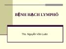 Hạch lymphô