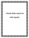 Chuyện thâm cung bí sử triều Nguyễn
