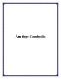 Ẩm thực Cambodia
