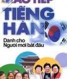 Ebook Tiếng Hàn cho người mới bắt đầu - Ngữ pháp và cách viết