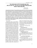 Tình hình bệnh phổi tắc nghẽn mạn tính điều trị nội trú tại khoa hô hấp bệnh viện Bạch Mai trong 5 năm (1996 - 2000)
