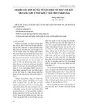 Nghiên cứu một số yếu tố tác động tới nguy cơ mắc tiêu chảy cấp ở trẻ dưới 5 tuổi tỉnh Thanh Hoá  Đọc thêm Nghiên cứu một số yếu tố tác động tới nguy cơ mắc tiêu chảy cấp ở trẻ dưới 5 tuổi tỉnh Thanh Hoá