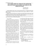 THỰC TRẠNG CÔNG TÁC CHĂM SÓC SỨC KHỎE BÀ MẸ DÂN SỐ KẾ HOẠCH HOÁ GIA ĐÌNH TẠI HUYỆN SÓC SƠN, THÀNH PHỐ HÀ NỘI