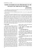 NGHIÊN CỨU MÔ BỆNH HỌC ĐẶC ĐIỂM XÂM NHẬP CỦA UNG THƯ DẠ DÀY VÀO THÀNH DẠ DÀY PHÍA TRÊN U