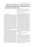 Tổng hợp và nghiên cứu tác dụng của protein tái tổ hợp (rHIP) trên sự phát triển dòng tế bào sợi phân lập từ mô lợi phì đại