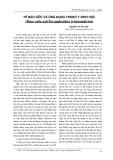 Tế bào gốc và ứng dụng trong y sinh học (Stem cells and the application in biomedicine)