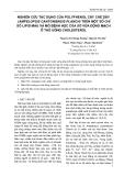 Nghiên cứu tác dụng của Polyphenol cây chè dây (Ampelopsis cantoniensis planch) trên một số chỉ số Lipid máu và mô bệnh học của xơ vữa động mạch ở thỏ uống Cholesterol