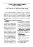 TÁC DỤNG CỦA POLYPHENOL CHÈ XANH (CAMELLIA SINENSIS) TRÊN TRẠNG THÁI CHỐNG OXY HOÁ TRONG MÁU Ở CHUỘT CỐNG TRẮNG GÂY ĐÁI THÁO ĐƯỜNG THỰC NGHIỆM