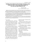 NGHIÊN CỨU SO SÁNH CÁC YẾU TỐ NGUY CƠ TRẺ SUY DINH DƯỠNG VỚI TRẺ CÓ TÌNH TRẠNG DƯỠNG TỐT Ở XÃ TÂN LẬP ĐAN PHƯỢNG HÀ TÂY