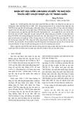Nhận xét đặc điểm lâm sàng và điều trị ngộ độc thuốc diệt chuột nhập lậu từ Trung Quốc