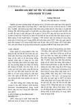NGHIÊN CỨU MỘT SỐ YẾU TỐ CHẨN ĐOÁN SỚM CHỬA NGOÀI TỬ CUNG