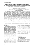 Nghiên cứu ảnh hưởng của isoniazid-pyrazinamid tới sinh khả dụng của rifampicin khi uống đồng thời rifampicin-isoniazid-pyrazinamid