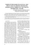 Nghiên cứu tính đa dạng của allele hla - DQA1 bằng kỹ thuật polymerase chain reaction sequence specific primers (PCR - SSP) ở dân tộc kinh miền trung - Việt Nam