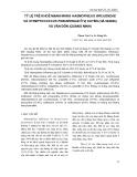 Tỷ lệ trẻ em khỏe mạnh mang Haemophilus Ìnluzae và Streptococcus Pneumoniae ở Vị Xuyên (Hà Giang) và Văn Đồn (Quảng Ninh)