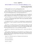 MỘT SỐ NGHIÊN CỨU VỀ CÁC XA -GEN KHÁNG BỆNH BẠC LÁ LÚA