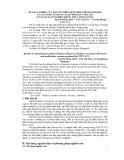 """Báo cáo """" KẾT QUẢ NGHIÊN CỨU ĐÁP ỨNG MIỄN DỊCH CHỐNG BỆNH GUMBORO CỦA GÀ ĐƯỢC SỬ DỤNG VACXIN ĐƠN GIÁ VÀ ĐA GIÁ SẢN XUẤT TẠI XÍ NGHIỆP THUỐC THÚ Y TRUNG ƯƠNG """""""