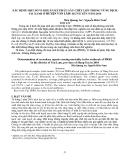 """Báo cáo """" XÁC ĐỊNH MỘT SỐ VI KHUẨN KẾ PHÁT GÂY CHẾT LỢN TRONG VÙNG DỊCH TAI XANH Ở - HƯNG YÊN NĂM 2010  """""""