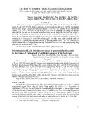 """Báo cáo """" XÁC ĐỊNH TỶ LỆ NHIỄM VÀ KHẢ NĂNG KHÁNG KHÁNG SINH CỦA VI KHUẨN E. COLI O157:H7 TRÊN TRÂU, BÒ KHỎE MẠNH Ở MỘT SỐ TỈNH NAM TRUNG BỘ  """""""