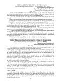 """BÁO CÁO """" KHẢO NGHIỆM VACXIN VÔ HOẠT CỦA TRUNG QUỐC VÀ VACXIN NHƢỢC ĐỘC CỦA ĐỨC PHÒNG PRRS Ở VIỆT NAM """""""