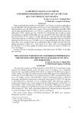 """BÁO CÁO """" VỊ TRÍ PHÂN LOẠI CỦA CÁC CHỦNG CLOSTRIDIUM PERFRINGENS PHÂN LẬP TẠI VIỆT NAM DỰA VÀO TRÌNH TỰ GEN 16S rRNA """""""