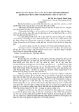 """BÁO CÁO """" KHẢO SÁT TÁC DỤNG CỦA LÁ CÂY XUÂN HOA ((Pseuderanthemum palatiferum) TRONG ĐIỀU TRỊ BỆNH TIÊU CHẢY Ở LỢN CON """""""