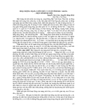 BÁO CÁO: HOẠT ĐỘNG MẠNG LƯỚI THÚ Y CƠ SỞ TỈNH BẮC GIANG – MỘT MÔ HÌNH MỚI