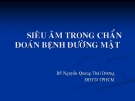 Bài giảng Siêu âm trong chẩn đoán bệnh đường mật - BS. Nguyễn Quang Thái Dương