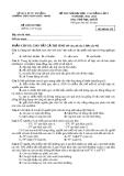 Đề thi thử Đại học môn Sinh năm 2013 khối B - Trường THPT Phan Châu Trinh (Mã đề 159)