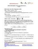 Đề thi thử Đại học môn Toán năm 2013 - Đề số 4