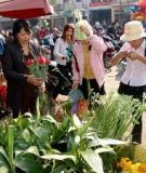 Chợ Điện Biên – Hoa của vùng Tây bắc